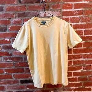 J Crew Yellow T shirt